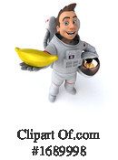 Astronaut Clipart #1689998 by Julos