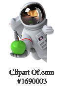 Astronaut Clipart #1690003 by Julos