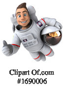 Astronaut Clipart #1690006 by Julos