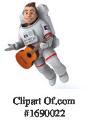 Astronaut Clipart #1690022 by Julos
