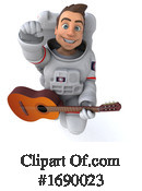 Astronaut Clipart #1690023 by Julos