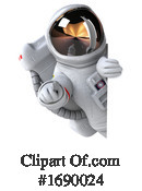 Astronaut Clipart #1690024 by Julos