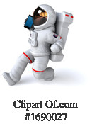 Astronaut Clipart #1690027 by Julos