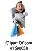 Astronaut Clipart #1690038 by Julos