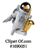Astronaut Clipart #1690051 by Julos