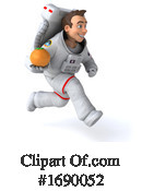 Astronaut Clipart #1690052 by Julos