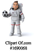 Astronaut Clipart #1690068 by Julos