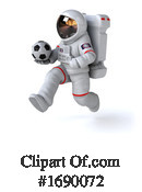 Astronaut Clipart #1690072 by Julos