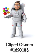 Astronaut Clipart #1690188 by Julos