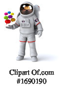 Astronaut Clipart #1690190 by Julos