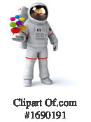 Astronaut Clipart #1690191 by Julos