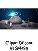 Astronaut Clipart #1694498 by Graphics RF