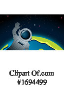 Astronaut Clipart #1694499 by Graphics RF