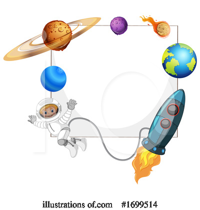 Astronaut Clipart #1699514 by Graphics RF