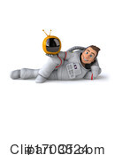 Astronaut Clipart #1703524 by Julos