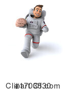 Astronaut Clipart #1703530 by Julos
