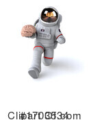 Astronaut Clipart #1703534 by Julos