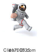 Astronaut Clipart #1703535 by Julos