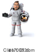 Astronaut Clipart #1703536 by Julos
