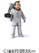 Astronaut Clipart #1703537 by Julos