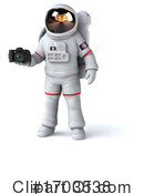 Astronaut Clipart #1703538 by Julos