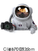 Astronaut Clipart #1703539 by Julos
