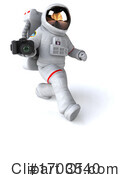 Astronaut Clipart #1703540 by Julos