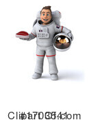 Astronaut Clipart #1703541 by Julos
