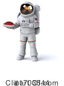 Astronaut Clipart #1703544 by Julos