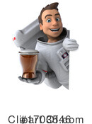 Astronaut Clipart #1703546 by Julos