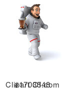 Astronaut Clipart #1703548 by Julos