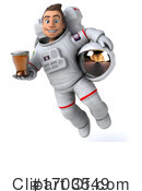 Astronaut Clipart #1703549 by Julos
