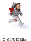 Astronaut Clipart #1703552 by Julos