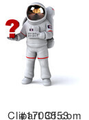 Astronaut Clipart #1703553 by Julos