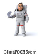 Astronaut Clipart #1703554 by Julos