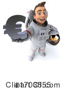 Astronaut Clipart #1703555 by Julos