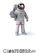 Astronaut Clipart #1703557 by Julos