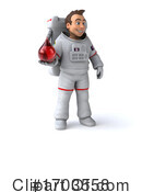 Astronaut Clipart #1703558 by Julos