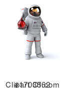 Astronaut Clipart #1703562 by Julos