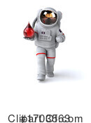 Astronaut Clipart #1703563 by Julos