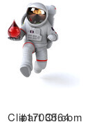 Astronaut Clipart #1703564 by Julos