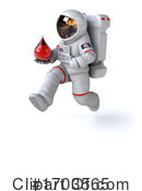 Astronaut Clipart #1703565 by Julos