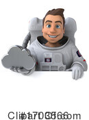 Astronaut Clipart #1703566 by Julos