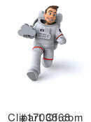 Astronaut Clipart #1703568 by Julos