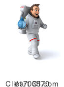Astronaut Clipart #1703570 by Julos
