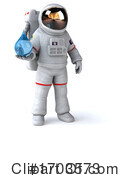 Astronaut Clipart #1703573 by Julos