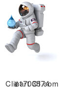 Astronaut Clipart #1703574 by Julos