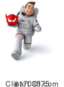 Astronaut Clipart #1703575 by Julos