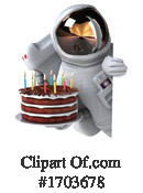 Astronaut Clipart #1703678 by Julos