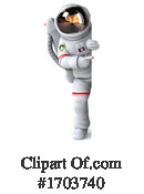 Astronaut Clipart #1703740 by Julos